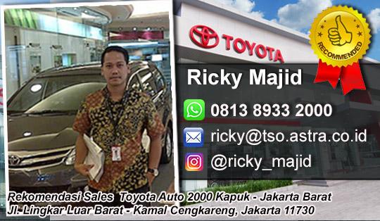 Rekomendasi Sales Toyota Kapuk Cengkareng