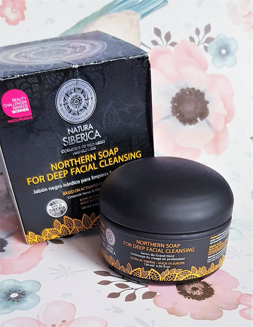 Natura siberica czarne mydło oczyszczające z dalekiej północy