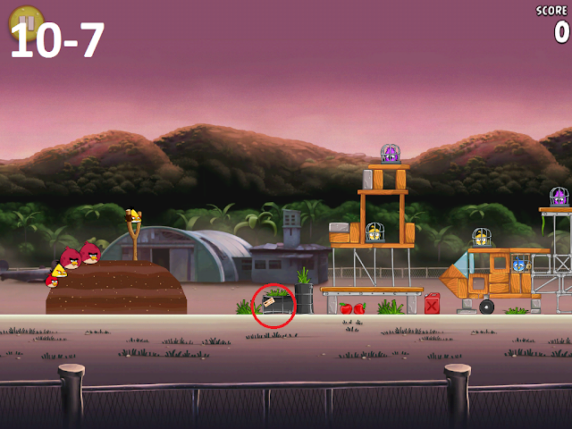 Angry Birds Rio - Airfield Chase 10-7