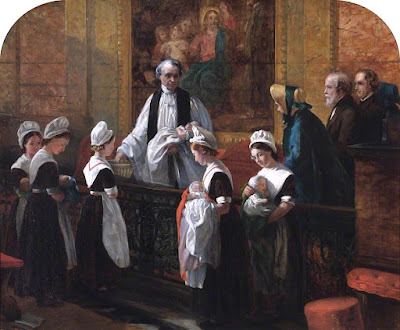 The Christening Emma Brownlow King - 1863