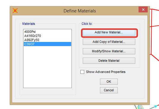 SAP2000 İle Malzeme Tanımlanması ve Kesit Atanması