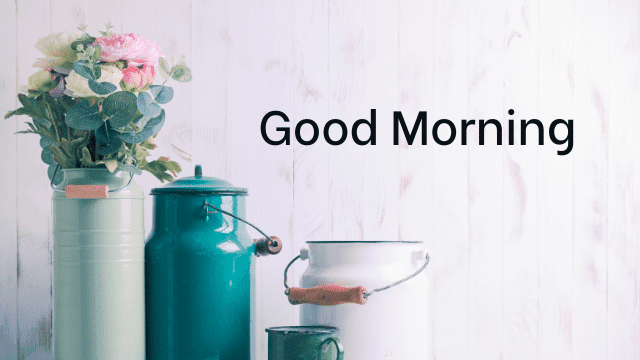 Good Morning Hd Wallpapers