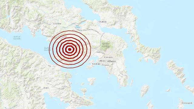 4,2 Ρίχτερ στις Αλκυονίδες ταρακούνησαν Αττική και Πελοπόννησο