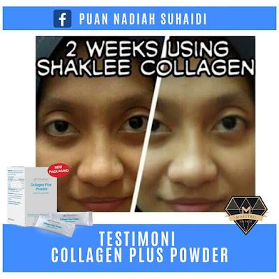 Testimoni Collagen Shaklee Kulit Cerah Dalam Masa 2 Minggu