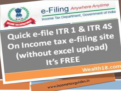 itr 4S, income tax return, income tax return form,itr 4s online, e filing itr online
