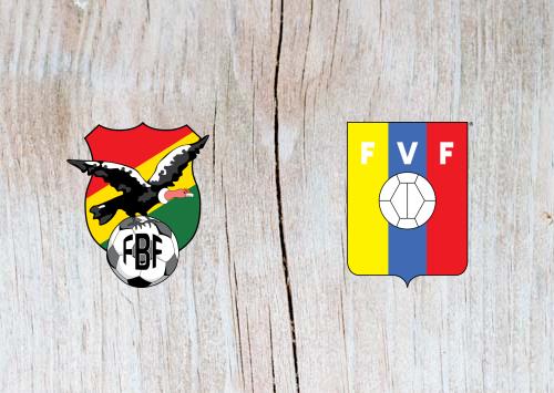 Bolivia vs Venezuela - Highlights 22 June 2019