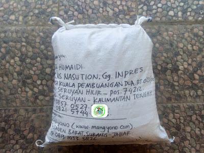 Benih padiTRISAKTI NEW   Pesanan HUMAIDI Seruyan, Kalteng.  (Setelah packing)