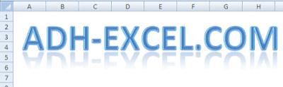 membuat teks decorative dengan wordart dalam excel