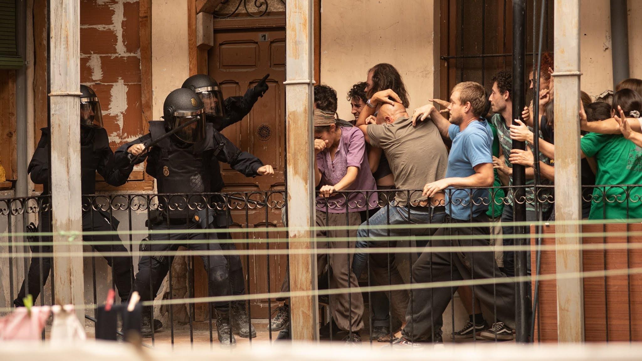 Escena del episodio 1 de 'Antidisturbios'