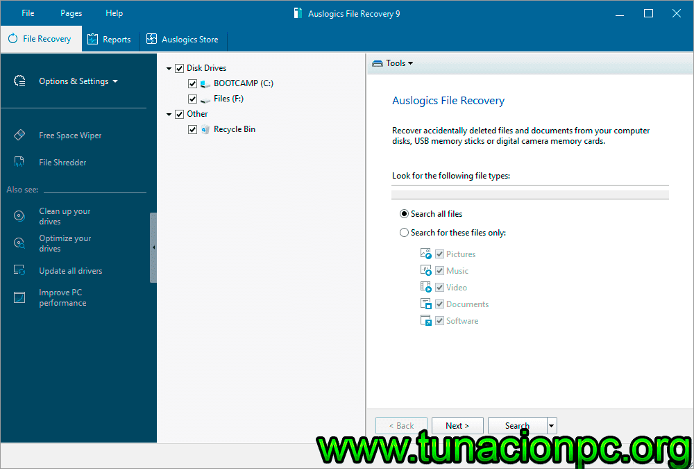 Auslogics File Recovery Final Full Español con Licencia