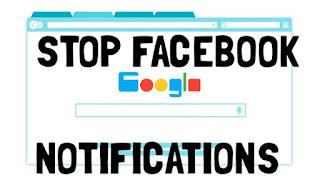 disable Facebook notifications in Chrome desktop