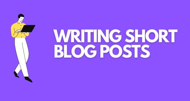 big benefits short blog posts shorter content length seo traffic reader attention span