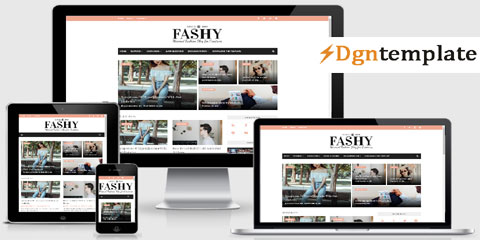Fashy Blogger Template | High Quality Blogger Templates 2020
