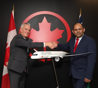 Air Canada partnership to benefit SI travelers