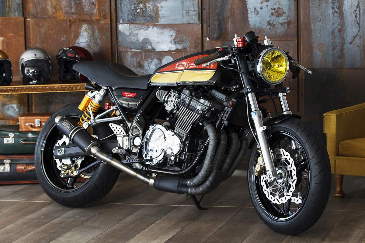 Cafe Racer Suzuki Intruder