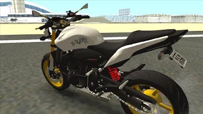 HONDA HORNET 2014 para GTA San Andreas , GTA SA
