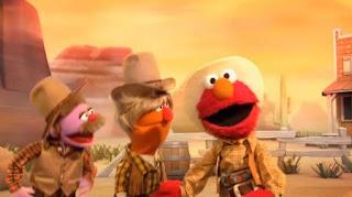 Sesame Street Elmo The Musical Cowboy the Musical.1