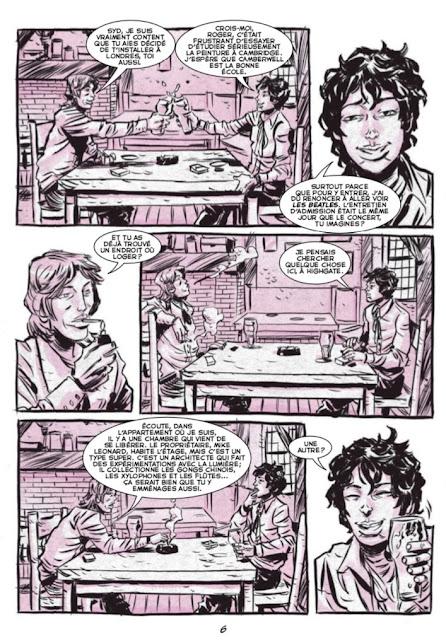 Syd Barrett & les Pink Floyd aux éditions Graph Zeppelin Page 6