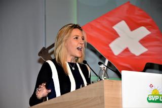 Céline Amaudruz: une Suisse à préserver