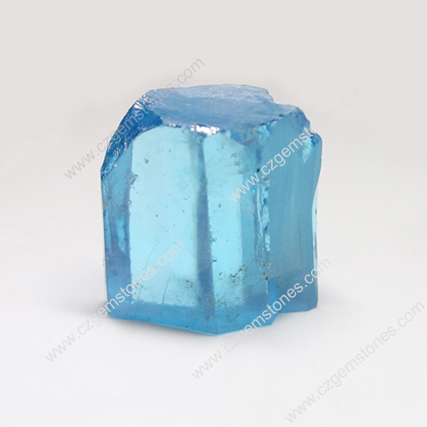 aquamarine lab created gems rough