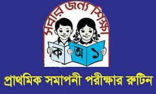 PSC and Ebtedayee Exam Final Date and Routine 2018 | mopme.gov.bd