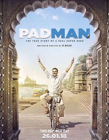Poster of movie Padman 2018 Hindi 720p Pre-DVDRip x264