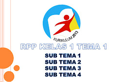 RPP Kelas I SD/MI Kurikulum 2013 Tema 1 Terbaru 2018