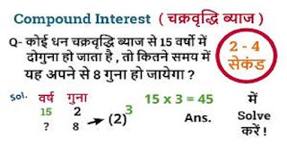 Compound Interest Question in Hindi