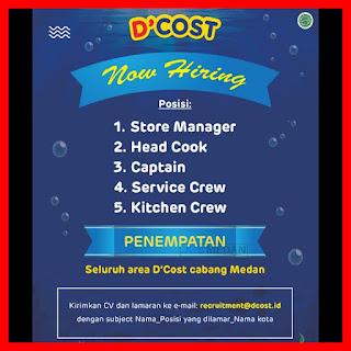 5 Lowongan di D'Dcost