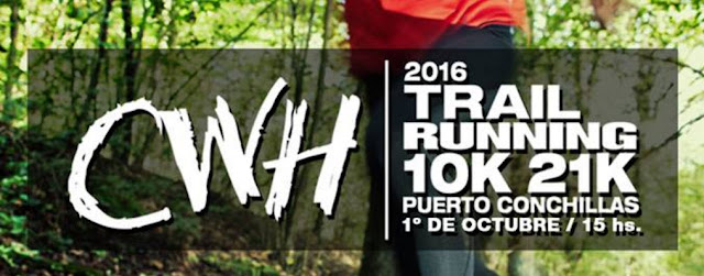 21k y 10k CWH trail running en Puerto Conchillas (Colonia, 01/oct/2016)
