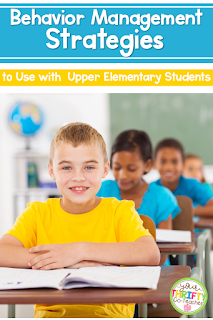 Classroom management in upper elementary classrooms can be tricky at first, but after many years of teaching fourth and fifth graders, these strategies have proven to manage behavior.