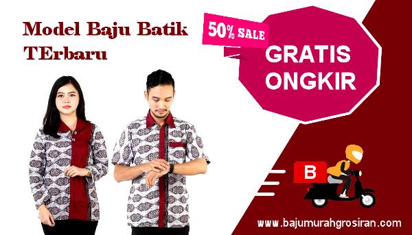 Model Baju Batik Terbaru BMGShop