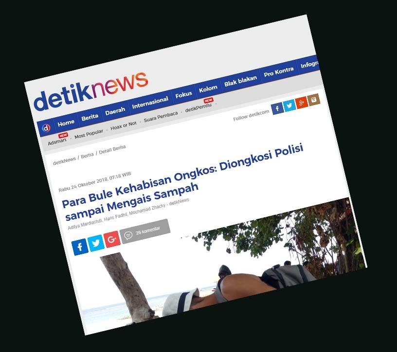 """Bule Inggris Tampar Muka Imigrasi Indonesia? Kok Bisa?, """"Bule Rusia Kesasar di Probolinggo, Diare Hingga Tidur di Kuburan"""", """"Para Bule Kehabisan Ongkos: Diongkosi Polisi sampai Mengais Sampah"""", Ditahan Lantaran Overstay, Bule Inggris Ini Beralibi dan Nekat Lakukan Hal Tak Terpuji pada Petugas Imigrasi"""""""