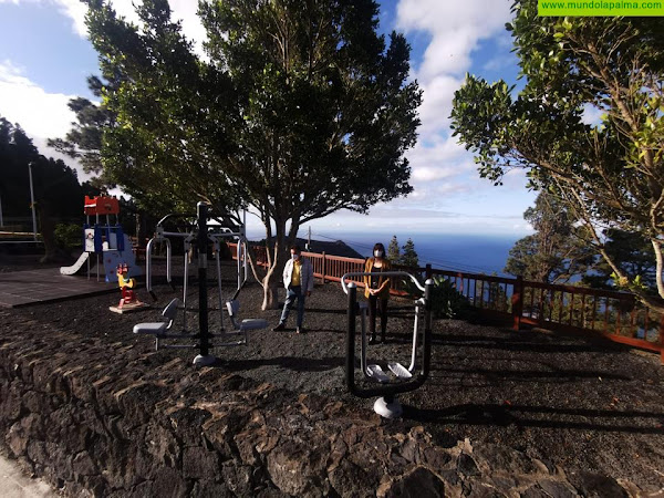 El Ayuntamiento de Fuencaliente rehabilita el parque del barrio de La Fajana