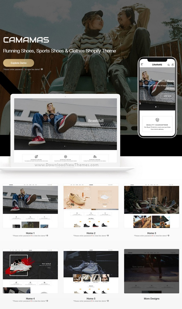 Running Sports Shoes Clothes Shopify Theme