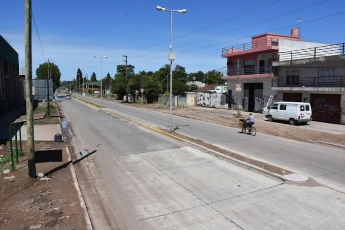 Se habilitó un trayecto de la Ruta Provincial Nº21