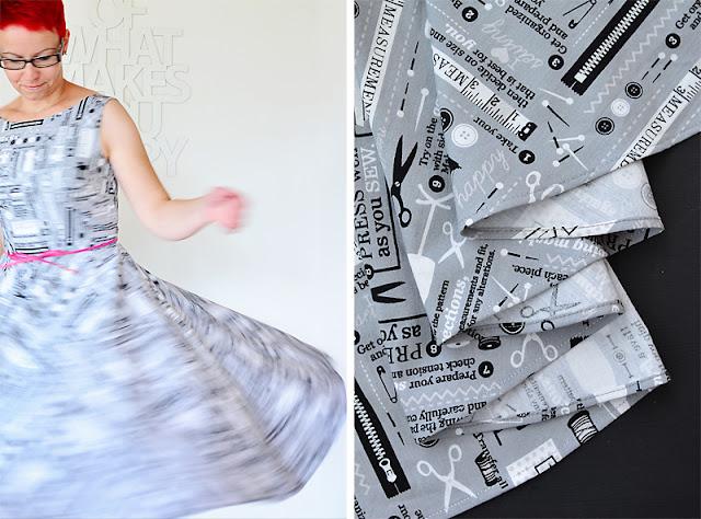 Betty Dress (Sew Over It) in der Nähnerd-Version @frauvau.blogspot.de
