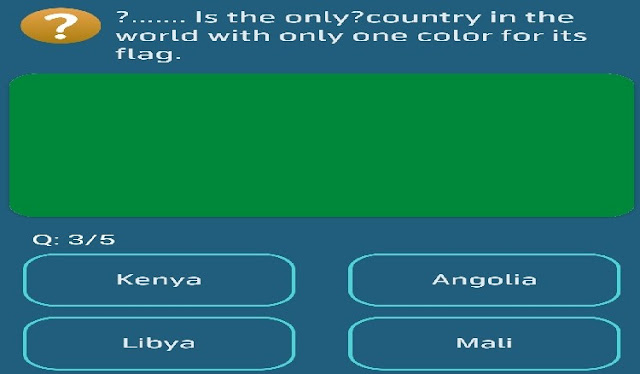 """Is the only country in the world with only one color for its flag?  ○Kenya ○Angolia ○Libya ○Mali   My Telenor Test Your skills 17 May 2020 Answer  My Telenor Daily 5 questions you have select answers from giving 4 options on my Telenor.  Telenor Answer all the questions correctly to win Telenor daily 50 MB And enter into a Telenor lucky draw.  It is safe to say that you are searching for Telenor my application test answers? I have addressed all inquiries and won the test. Simply open your Telenor my application and afterward open the menu """"Test your skills"""" here you will discover these inquiries.  Come again tomorrow to win exciting rewards everyday.  Is the only country in the world with only one color for its flag?  Answer : Libya"""