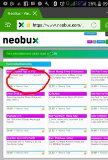 IMG 20170211 092451 Cara mudah klik iklan Neobux di Handphone Android