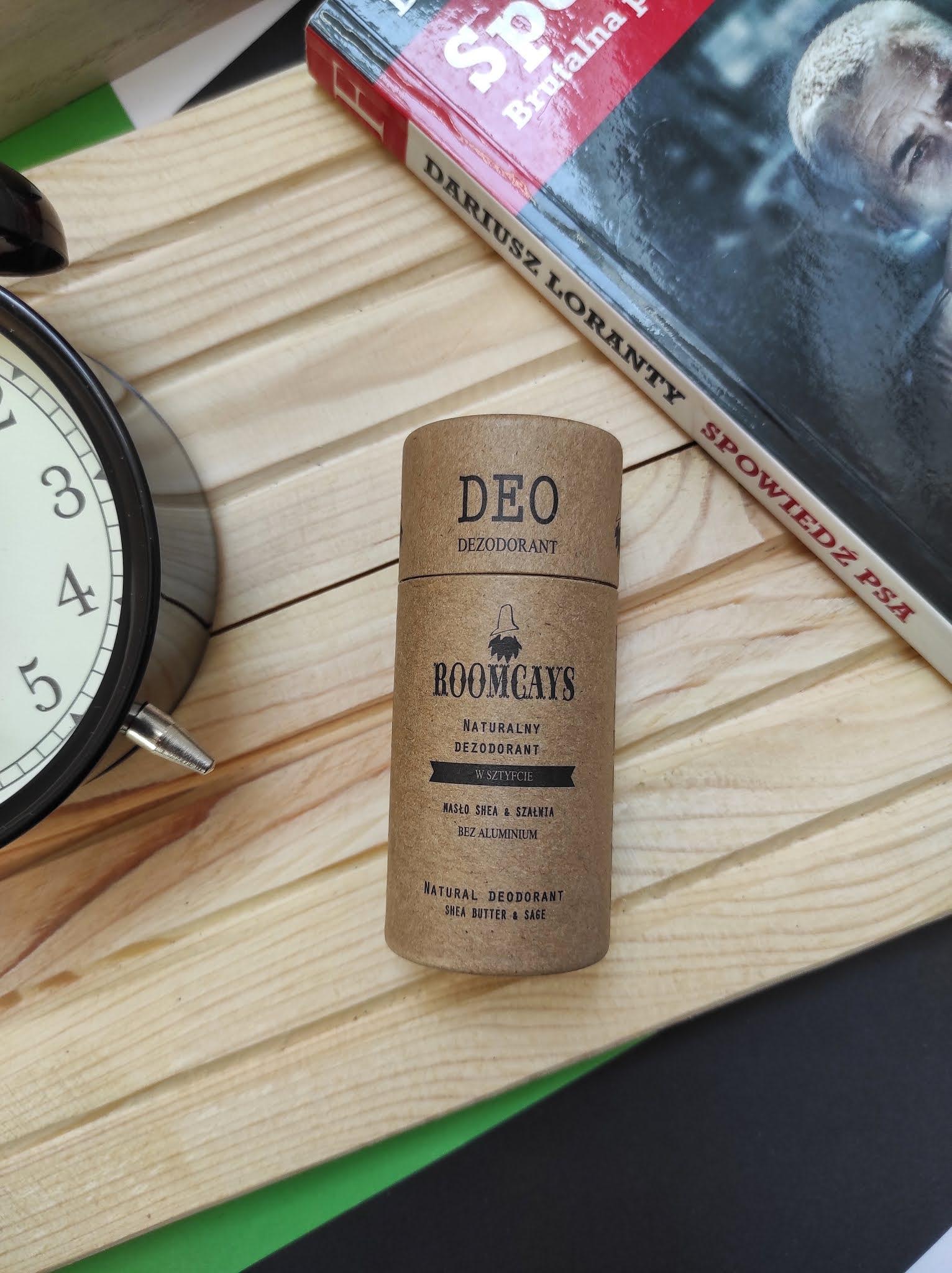 Dezodorant w sztyfcie dla mężczyzn  Roomcays - nowość w ofercie marki.