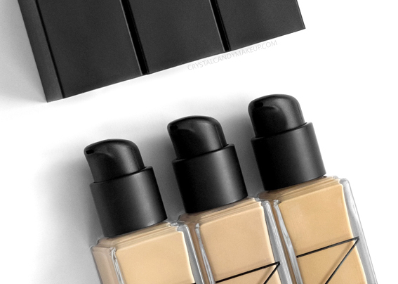 NARS Natural Radiant Longwear Foundation Review Packaging Pump