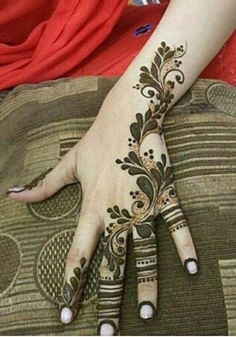Arabic Mehndi design 2017