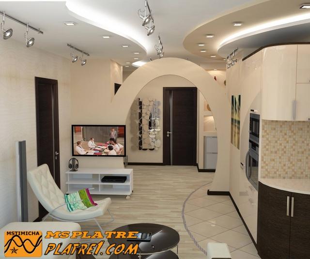 Platre - Plafond en platre moderne ...
