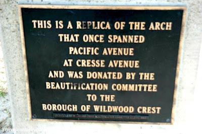 Wildwood Crest Arch in Wildwood Crest, New Jersey
