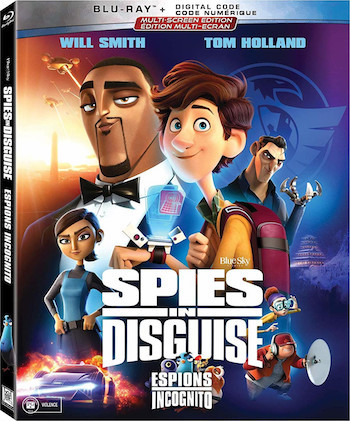 Spies In Disguise 2019 Dual Audio Hindi 300mb Bluray 480p