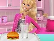 Barbie Hamburger Shop