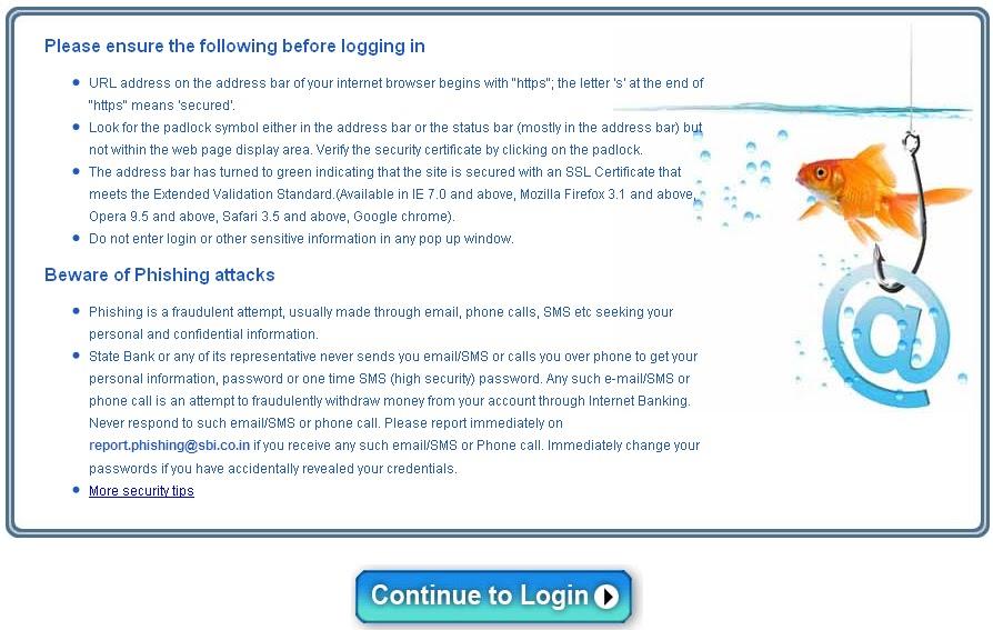 Onlinesbm Personal Banking