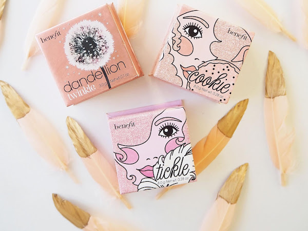 Benefit Powder Highlighters review, swatches & GIVEAWAY: win one of your choice!