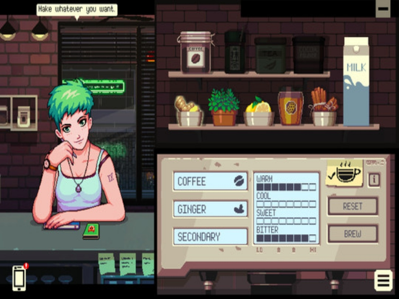 Coffee Talk PC Game Free Download