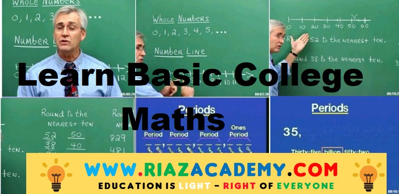 Basic College Mathematics  Course Free